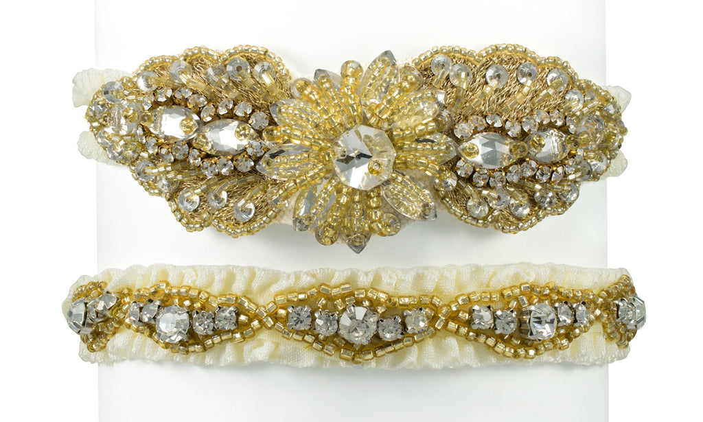 Crystal Bridal Garter