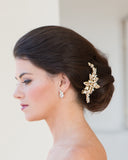 Gold Bridal Hairclip
