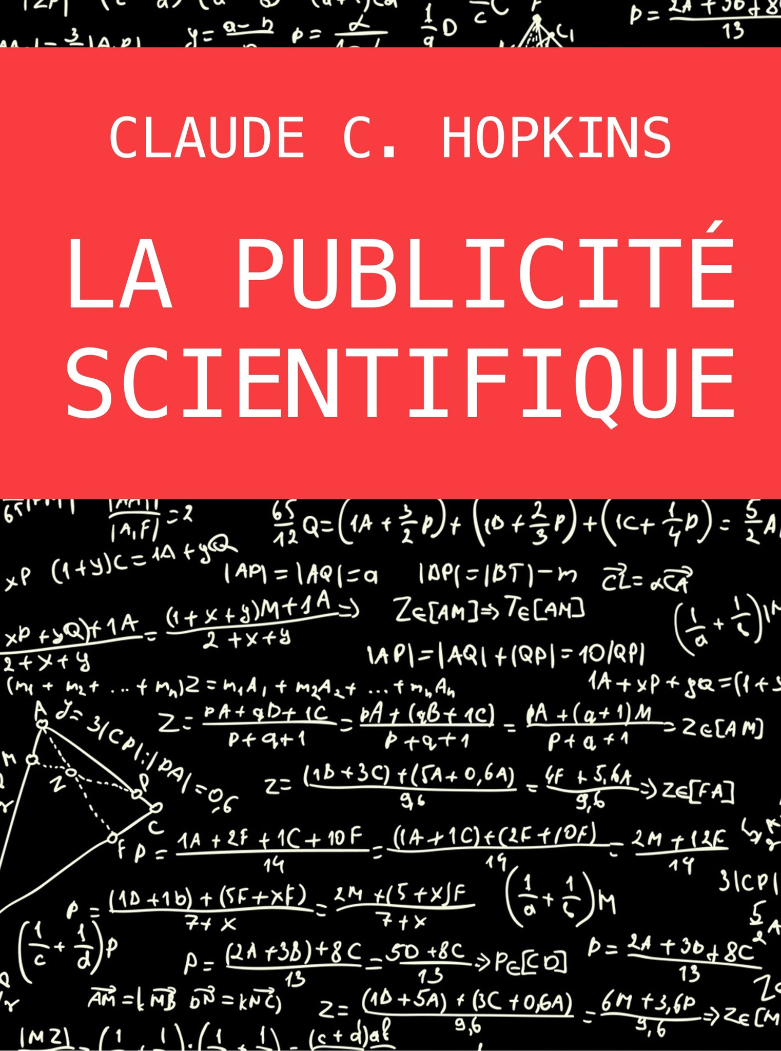 La publicité scientifique - papier