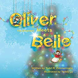 Case of Oliver the Ornament Meets Belle Hard-Bound Book