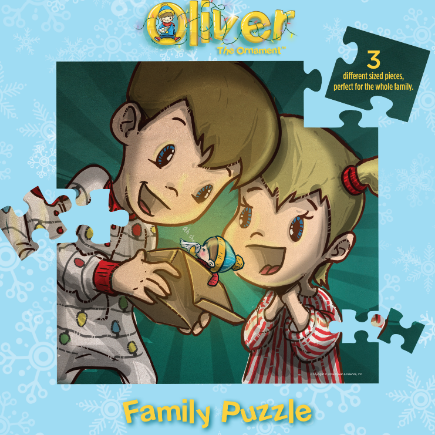 Family Puzzle - Children Discover Oliver