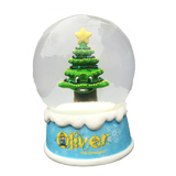 OLIVER THE ORNAMENT MUSICAL SNOW GLOBE - FRASIER