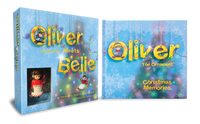 Oliver the Ornament Meets Belle with Free Copy of Christmas Memories