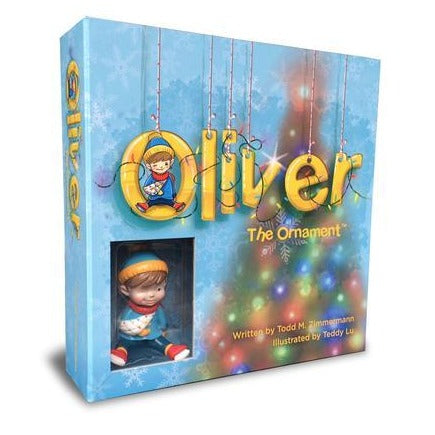 Buy One, Get One, Give One. Signed and Numbered Oliver the Ornament Gift Set