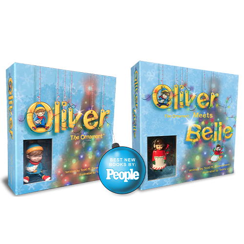Oliver the Ornament and Oliver the Ornament Meets Belle Boxed Gift Sets