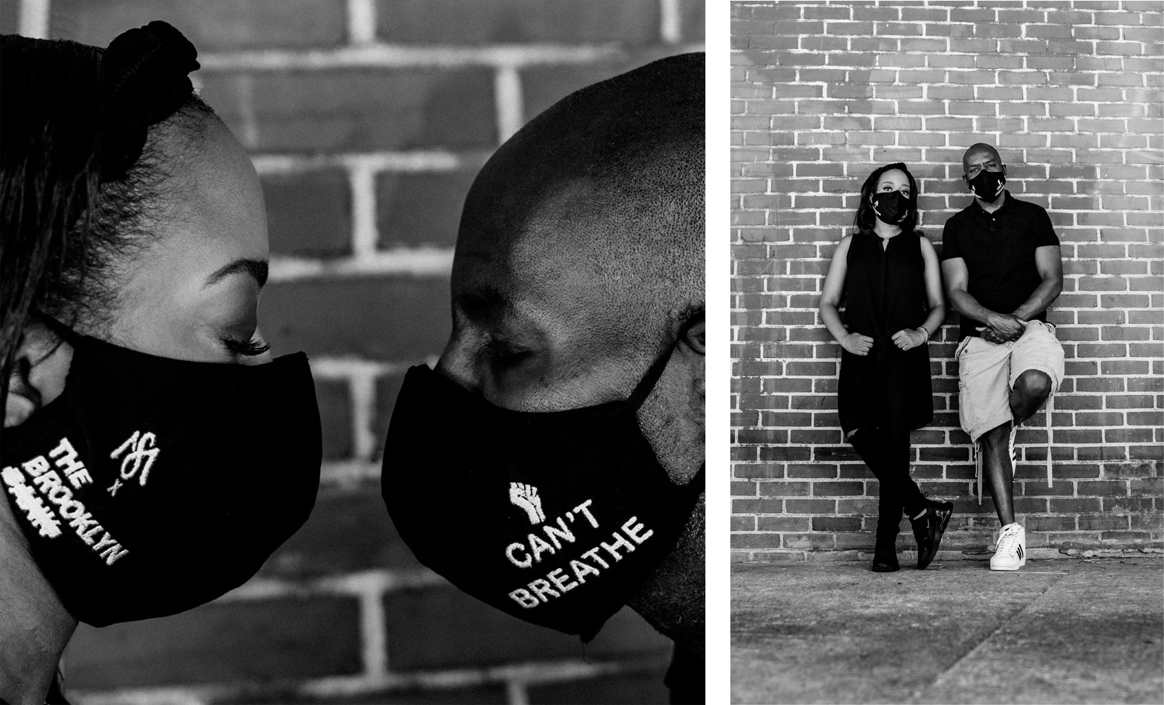 MARQUISE SARAH X THE BROOKLYN BANK FACE MASK PROMO