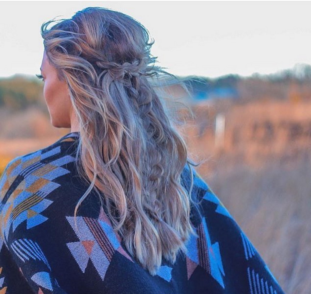 Boho Hair Inspo // Tutorial from Beauty Blogger FrouFrou412