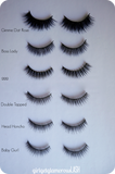 vegan friendly natural wedding dramatic false faux lashes cruelty free reusable affordable