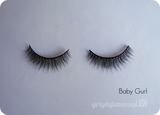 vegan friendly cruelty free beauty makeup lashes false faux natural girl get glamorous review
