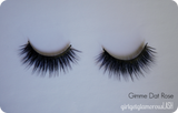 vegan friendly wedding dramatic false faux lashes cruelty free reusable affordable