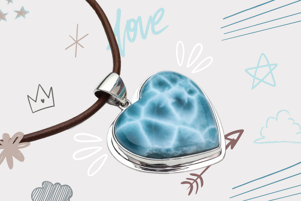 Larimar Hearts: Stone for the Soul!