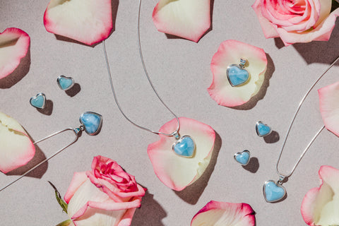 What are you Gifting this Valentine's Day? larimar jewelry trends