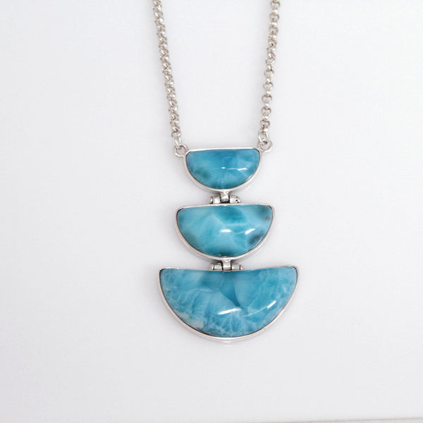 Larimar Necklace Dominican Handmade