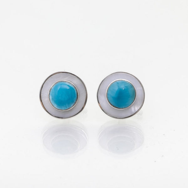 larimar cuff links for men