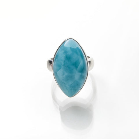 Blue Larimar ring