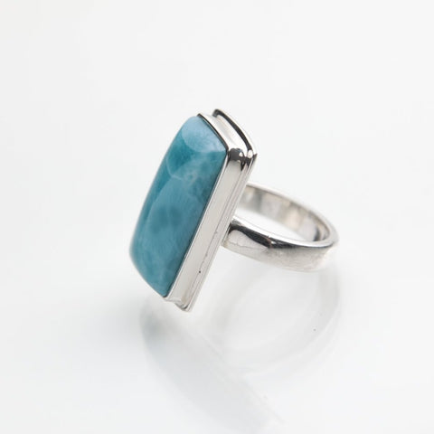 Larimar Blue ring