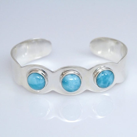 Larimar Cuff Bracelet, SANTANA Collection