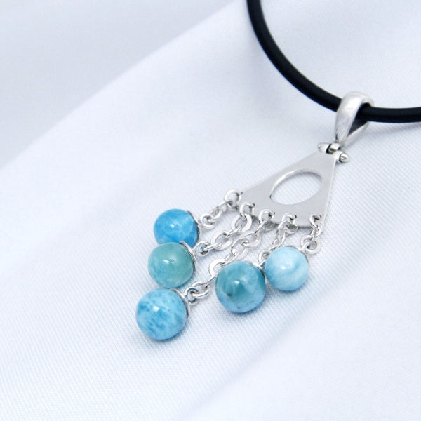 Larimar Pendant - MENA Collection