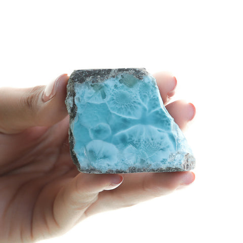 Larimar Rock paperweight