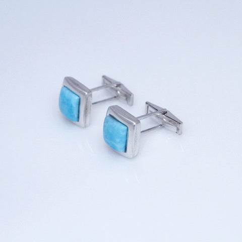 larimar cuff links