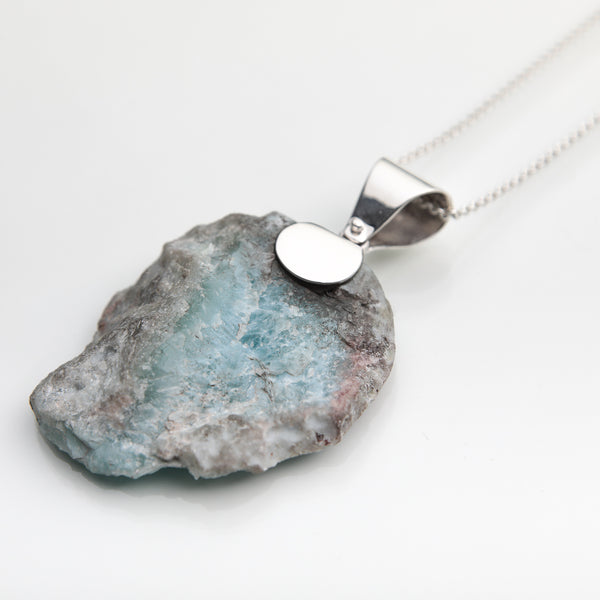Larimar Men Pendant