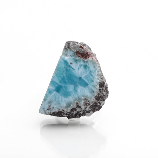 Raw Larimar Ring, Karla