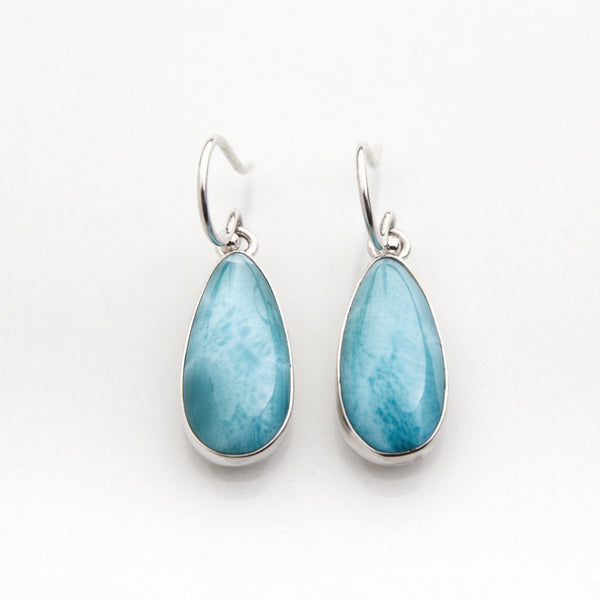 Larimar Earrings, Banes