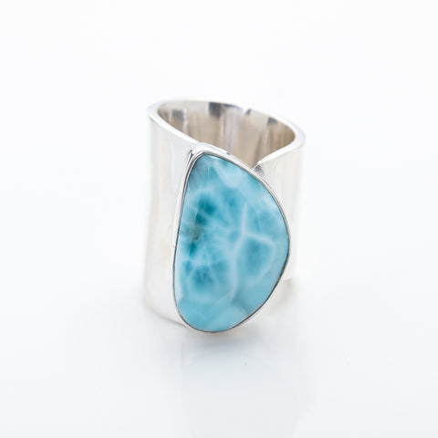 Larimar Statement Ring Zoe