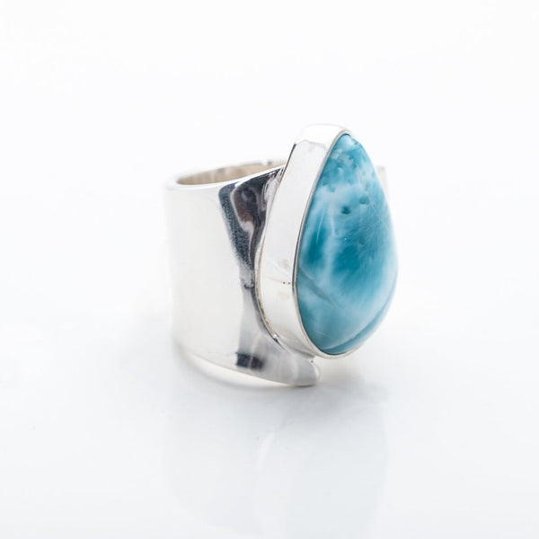 Larimar Statement Ring Ivanna