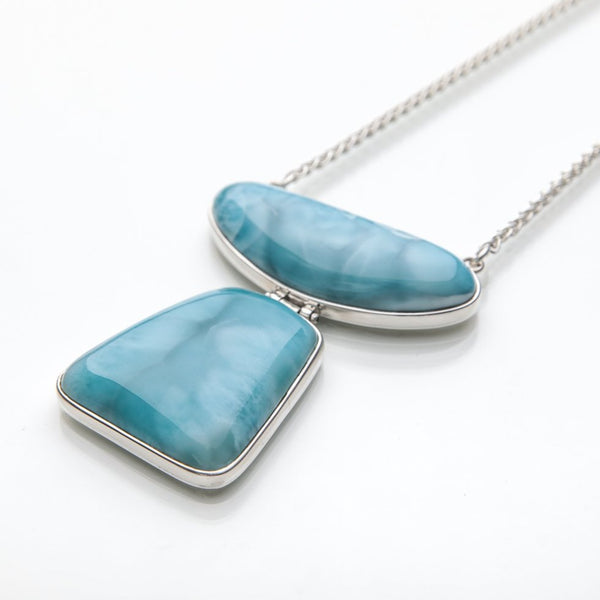 Larimar Necklace, Boldness