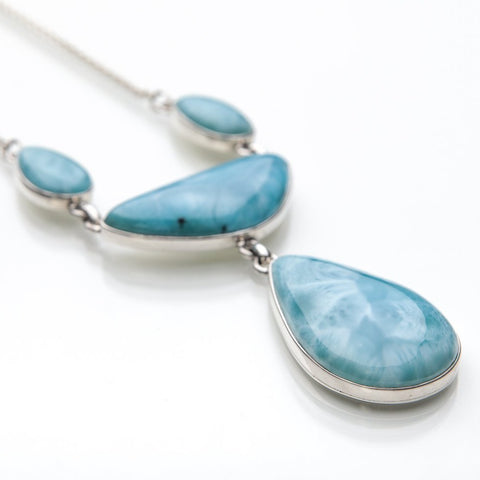 Larimar Necklace, Bahoruco