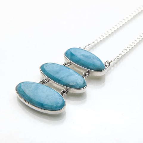 Larimar Necklace, Gretta