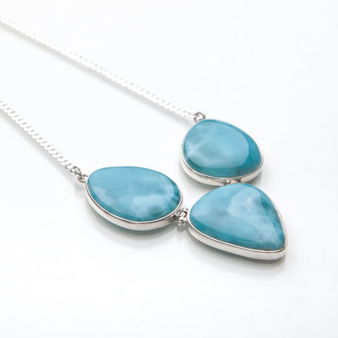 Larimar Necklace, Mafa
