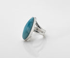 Blue Larimar Ring, Luana