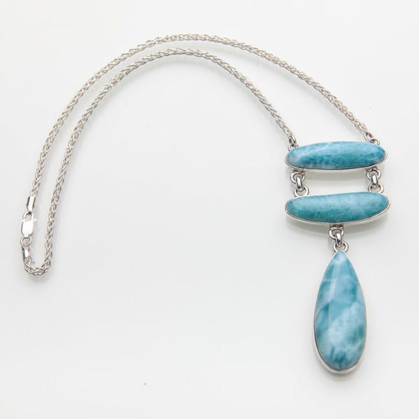 Larimar Necklace, Santo Domingo