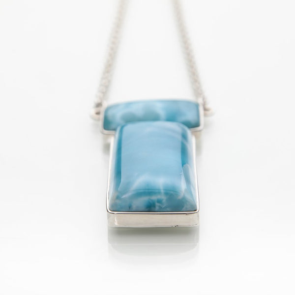 Larimar Necklace, Mystery Ocean
