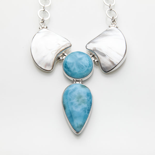 Larimar Necklace, The Statement
