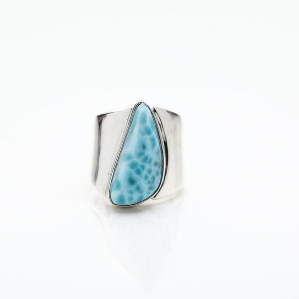 Larimar Statement Ring Alex