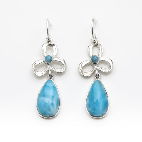 Larimar Dangle Earrings, Ana