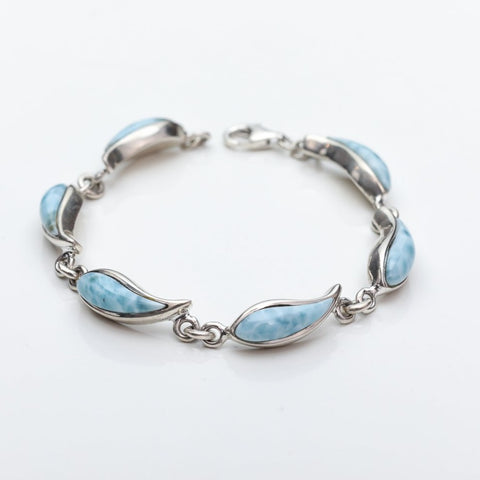 Larimar Silver Bracelet Ashley