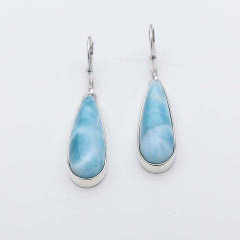 Larimar Dangle Earrings, Ada