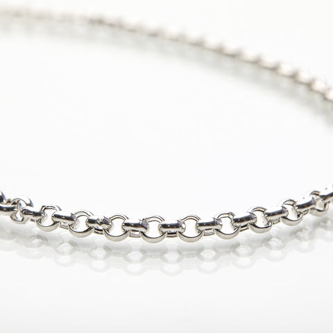 Large Rolo Silver Chain