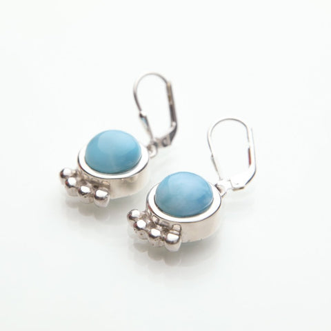 Larimar Dangle Earrings, Marea