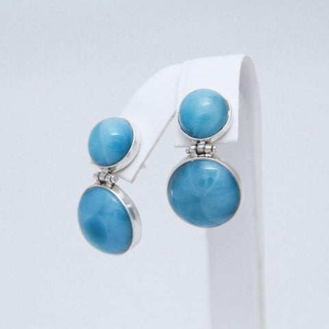 Larimar Earrings - Post Style