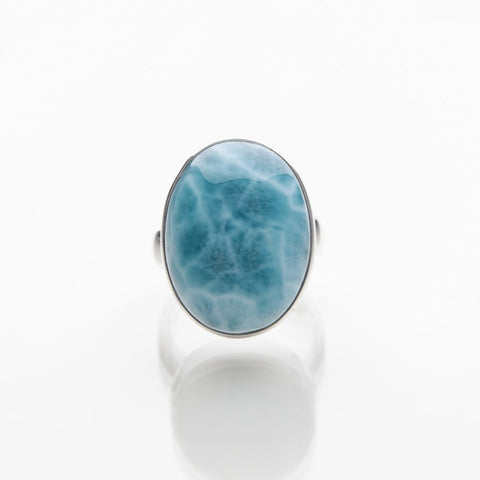 Turtleback Larimar Ring, Costa