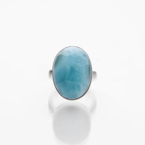 Lovely blue Larimar Ring, Belina