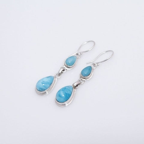 Larimar Earrings, Lovingly