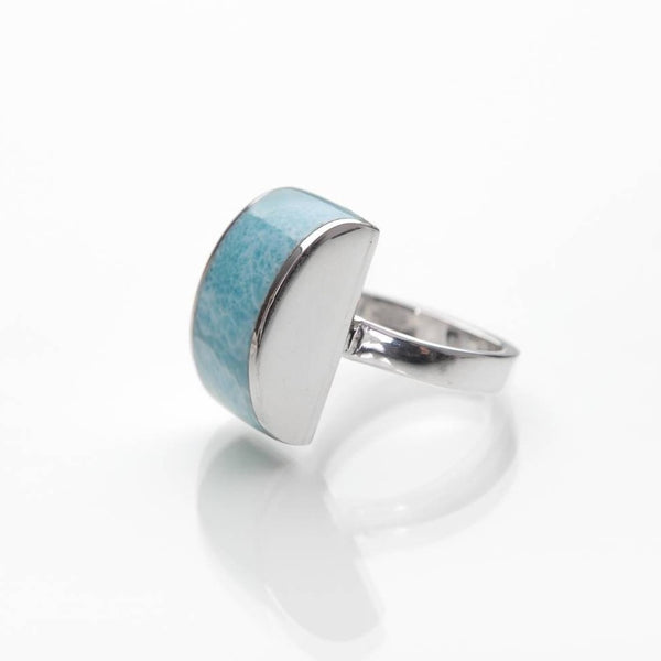 Larimar ring Dream