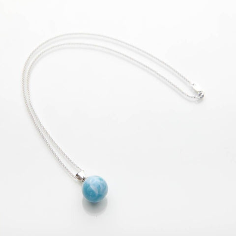 Larimar Pendant Necklace Mika