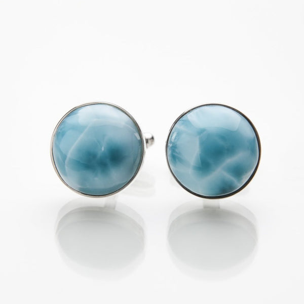 Larimar Cufflinks, Tony